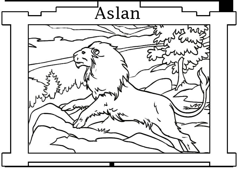 Jogo Pinte Aslan de Narnia no Jogos 360
