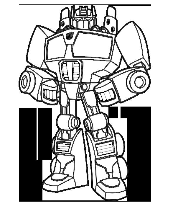 imagens de transformers para colorir coloring page transformers